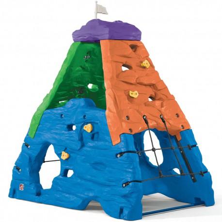 Step2 Kolorowa Góra Wspinaczkowa Skałka Plac Zabaw Dla Dzieci